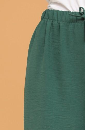 بنطال أخضر زمردي 5632-02