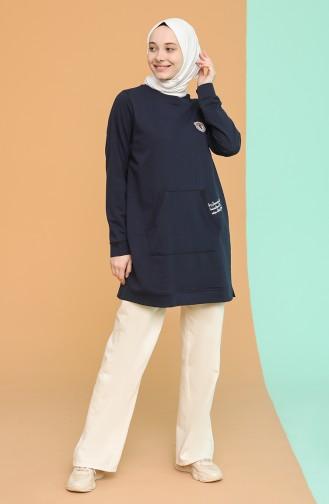 Tunique Bleu Marine 3017-04