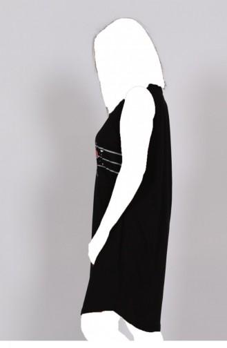 Black Pyjama 10210000.SIYAH