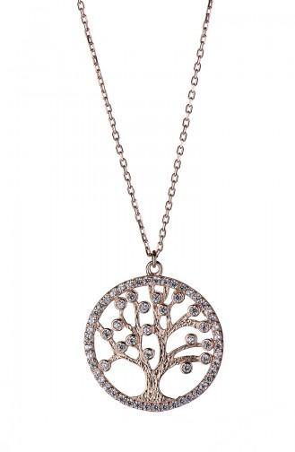 Rose Tan Necklace 011-1