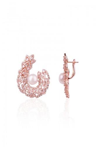 Rose Tan Earrings 0167R