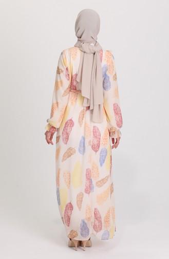 Robe Hijab Beige 21Y8374-01