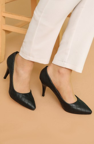 Chaussures a Talons Noir 120-01