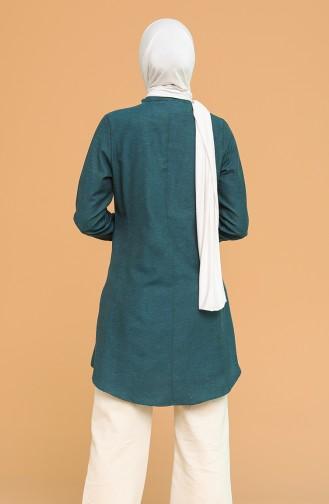 Tunique Vert emeraude 2538-02