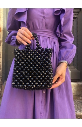 Black Portfolio Hand Bag 0052-01