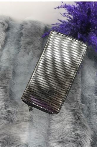 Silver Gray Wallet 0982-01