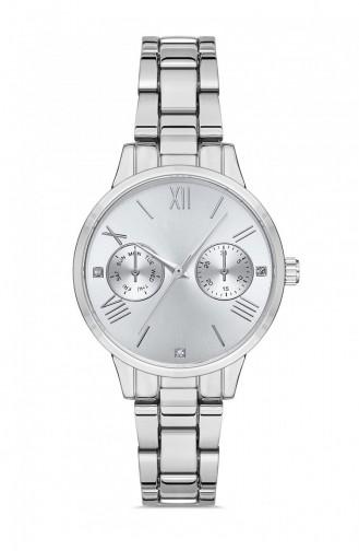 Silbergrau Uhren 8902712039854
