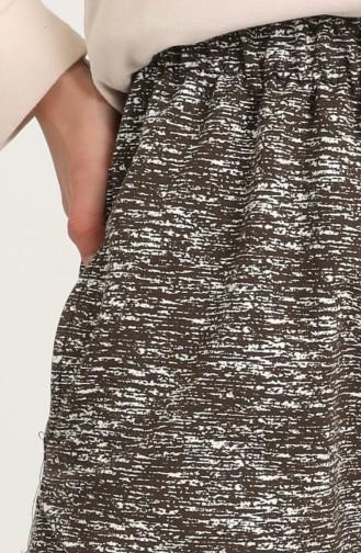 Brown Sweatpants 0037A-01