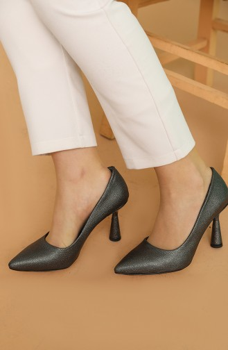 Chaussures a Talons Platine 017-02