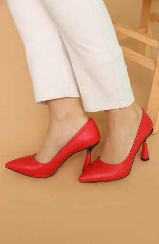 Chaussures a Talons Rouge 017-08