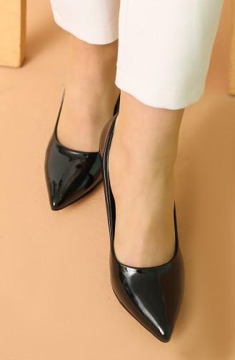 Chaussures a Talons Noir 017-12