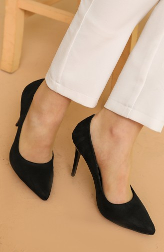 Chaussures a Talons Noir 150-03