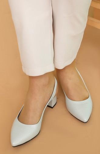Bayan Topuklu Ayakkabı AP611-01 Buz Mavisi Rolaks