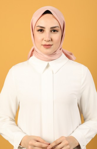 Platin Cotton Eşarp 15215-21 Pudra