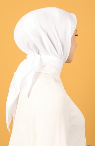 Weiß Kopftuch 15215-30