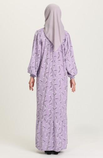 Violet Hijab Dress 21Y8361-03
