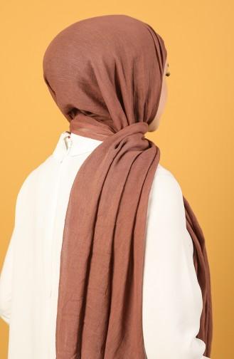 Zimtfarbig Schal 1001-12