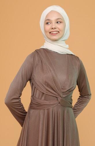 Habillé Hijab Vison 5397-02