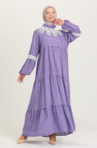 Lila Hijap Kleider 5223A-01