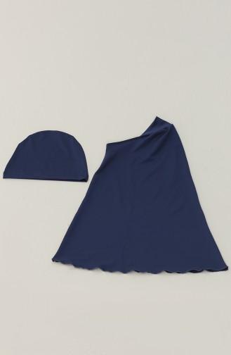 Indigo Hijab Badeanzug 21215-03