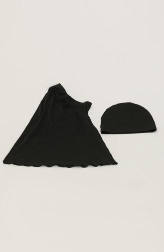 ملابس السباحة أسود 21410-01