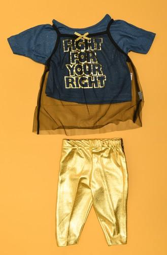Blau Baby und Kinder Anzüge 74982-03