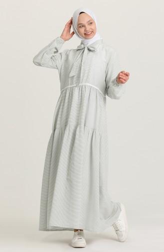 Robe Hijab Vert 1603-03