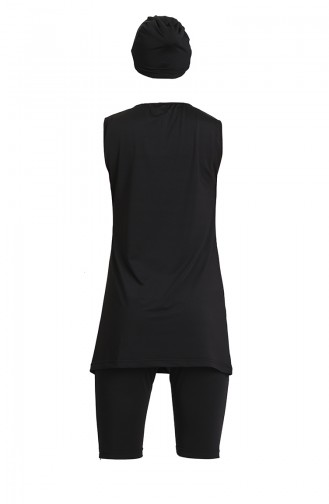 Black Swimsuit Hijab 21800-03
