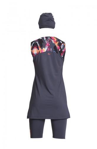 Anthracite Swimsuit Hijab 21801-03