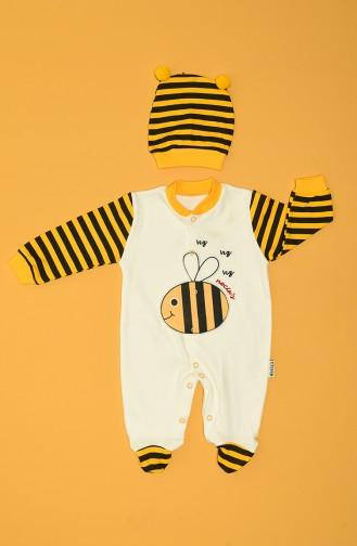 Yellow Baby Overall 80970-01
