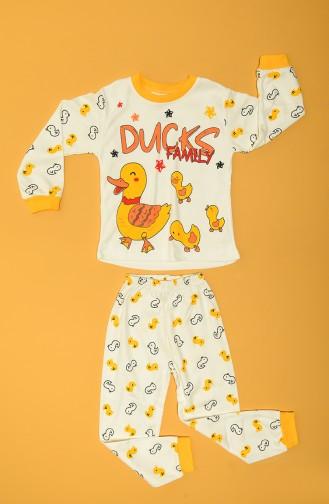 Pyjama Enfant Jaune 80928-01