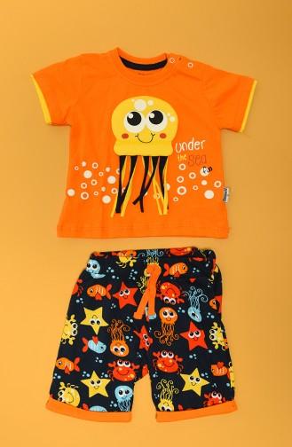 Orange Baby and Children`s Set 80660-02