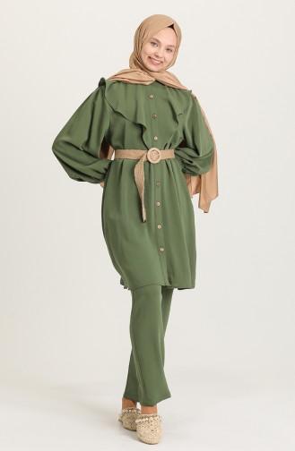 Khaki Anzüge 1421-03