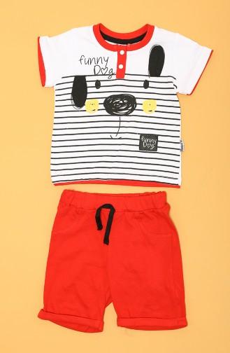 Ensembles Bébé et Enfant Rouge 80669-03