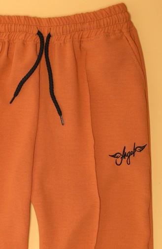 Pantalon Sport Orange 80099-03