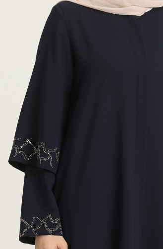 Dunkelblau Abayas 9002-05