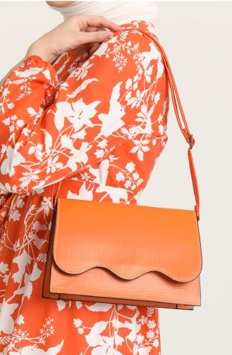 Orange Shoulder Bag 0026-14