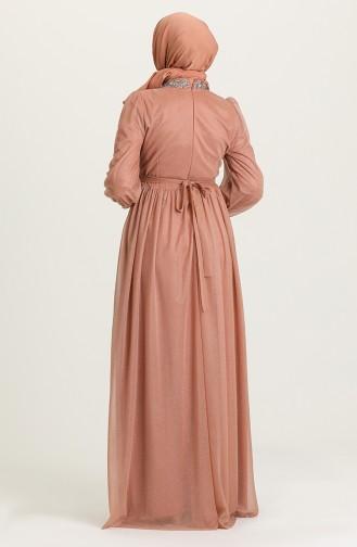 Habillé Hijab Rose Pâle 4871-03