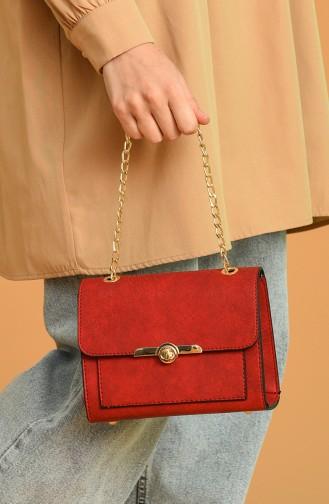Red Shoulder Bags 0031-13