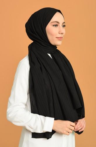 شال أسود 5195-01