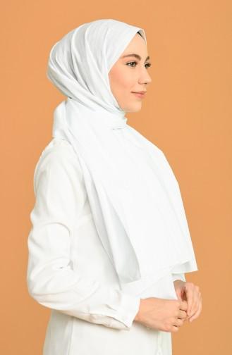 Pamuk Şal 5195-02 Beyaz