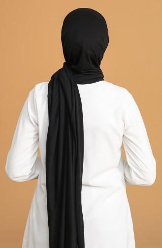 Düz Penye Şal 1000-01 Siyah