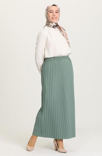 Mint Green Skirt 5635-02