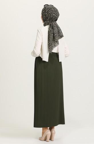 Khaki Skirt 5635-04