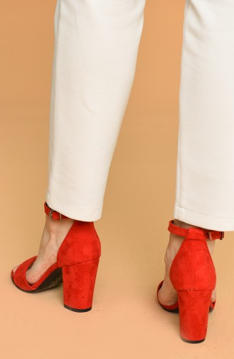 Red High-Heel Shoes 11-13-02