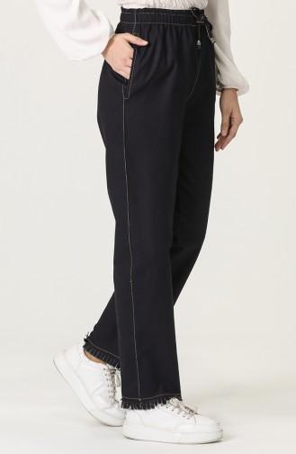 Pantalon Bleu Marine 3504-01