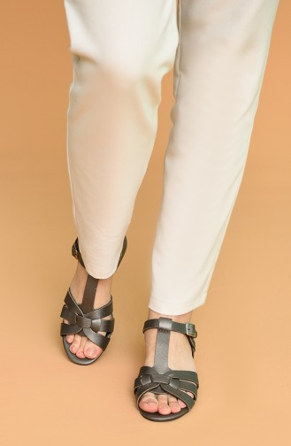 Sandales D`été Platine 5-15-06