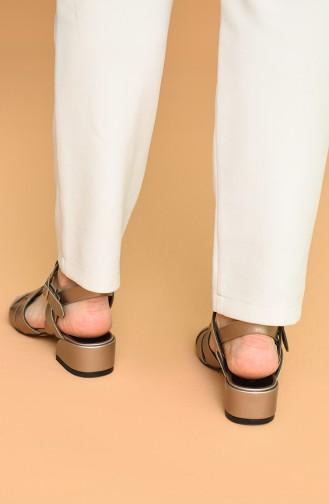 Bayan Sandalet Y5-15-01 Rose Cilt
