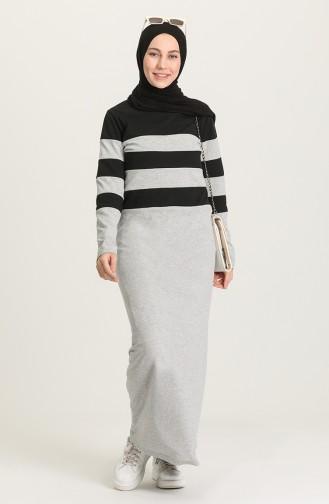 Robe Hijab Noir 4070-02