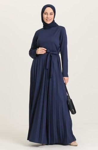 فستان نيلي 4026-02